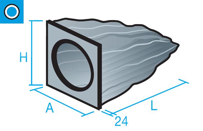 Filtro de bolsa blanda de fibra sintética
