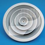 Difusor circular de cono fijo
