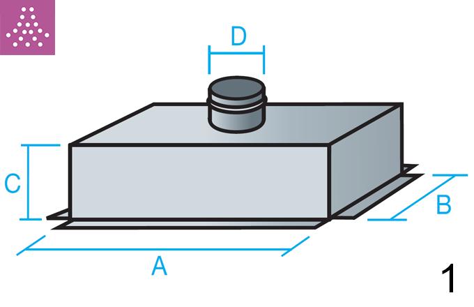 Plenum de conexión superior