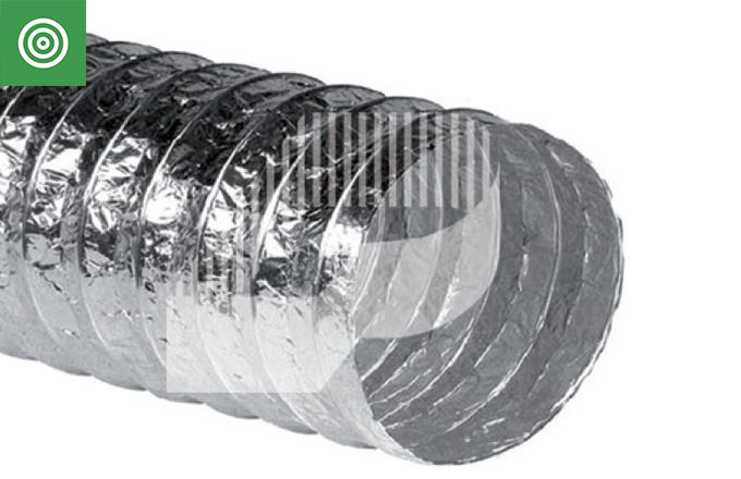 Tubo superflexible de aluminio ALUFLEX