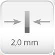 Espesor acero 2mm