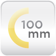 Gruix aïllament 100mm