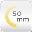Gruix aïllament 50mm