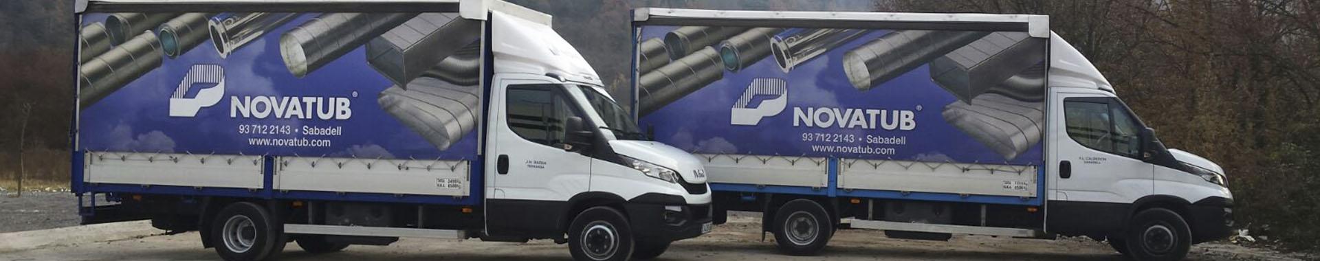 camiones novatub