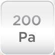 Sobrepresión 200Pa