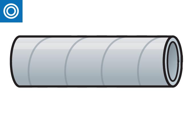 Conducto doble tubo aislado