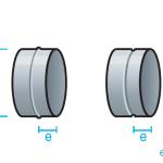 Manguito simple para conducto circular