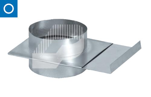 Regulador de caudal tipo guillotina para conducto circular