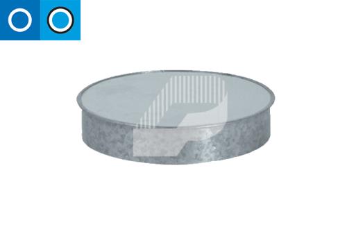 Tapa para conducto circular