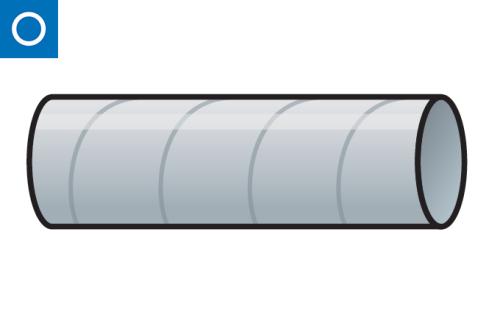 conducto circular - tubo helicoidal