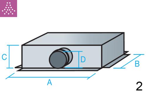 Plenum de conexión lateral mayor