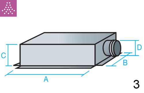 Plenum de conexión lateral menor
