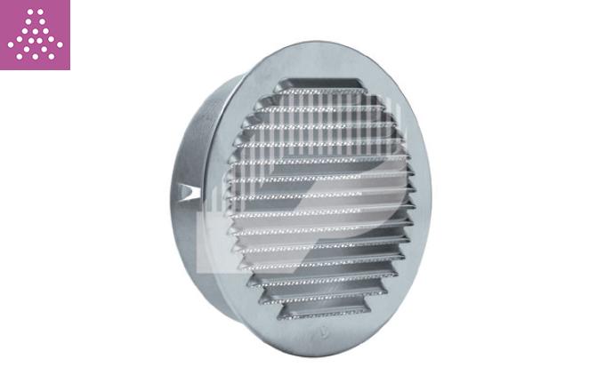 Rejilla de aluminio con tela metálica
