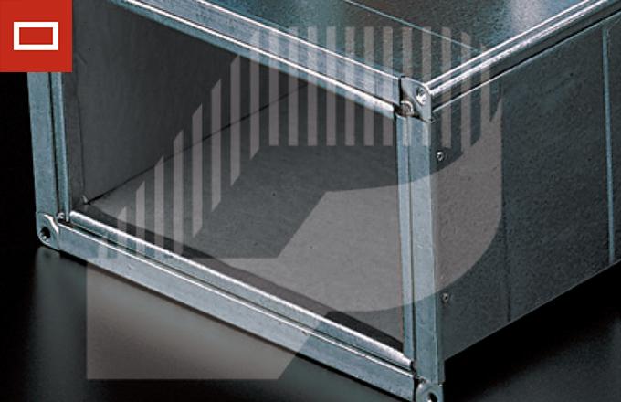aislamiento térmico interior adhesivo para conducto rectangular