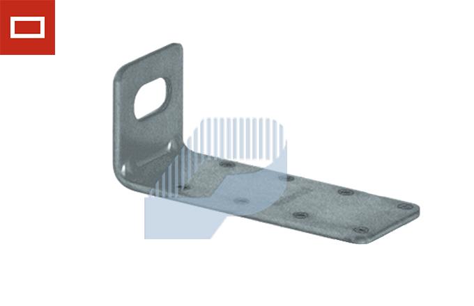 escuadra soporte para conducto rectangular