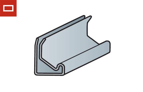 Perfil de montaje para conducto rectangular