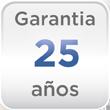 Garantía 25 años