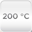 Temperatura trabajo 200ºC